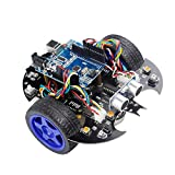Yahboom UNO R3 Smart Robot Project Super Starter Learning Kit  DIY Programmable Robotice Toy Car...