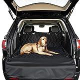 QZDG ペット用ドライブシート 車用ドライブシート 滑り止め 汚れに強い 車載カバー 水洗い可能 取り付け簡単 折り畳み式 大中小型車用 犬用猫用