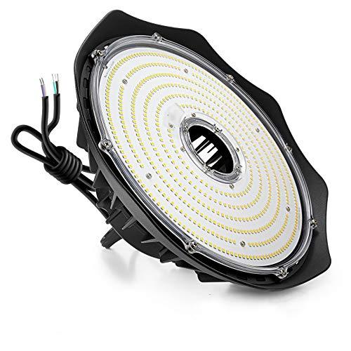 Anten LED Hallenstrahler 240W 30000Lumen 5000Kelvin, Schutzklasse IP65 Hallenleuchte, 1~10V Dimmbar Flimmerfrei LED Strahler, AC100-277V LED UFO High Bay, 110°Abstrahlwinkel LED Industrielampe