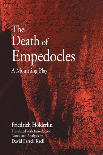 The Death of Empedocles: A Mourning-play (SUNY series in Contemporary Continental Philosophy)