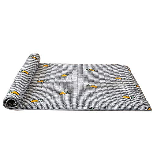 SJH Tatami Mattress, Healthy And Comfortable Fabric, Washable Non-slip Mattress, Cotton Mattress, Foldable, Breathable, Warm And Thick, You Can Enjoy A Fresh Sleep(Color:E,Size:1.2 * 2.0M)