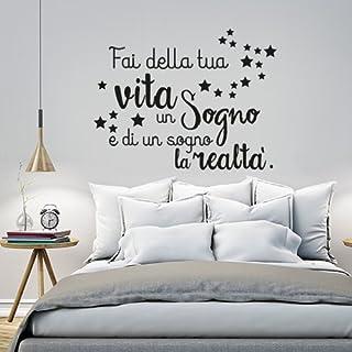 Adesivi Per Muri Interni.Amazon It Stickers Da Muro Con Frase