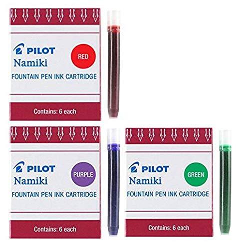 2 Confezioni da 12 pz Cartucce Pilot Parallel Pen Pilot 24 Mixable Colour