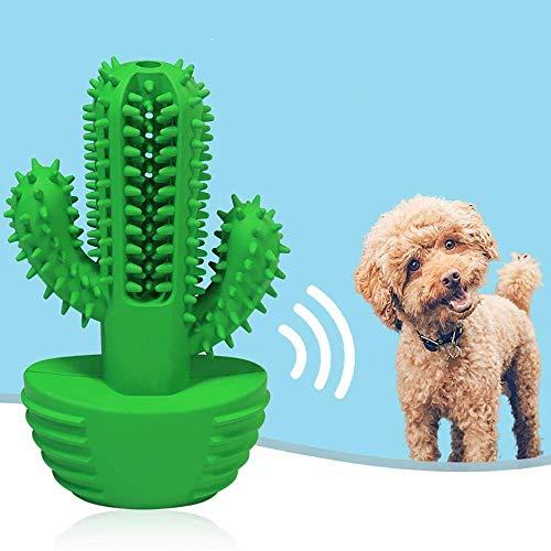 Pet Zahnbürste Hund Schminkpinsel Hundespielzeug Gummi kauen Bürste Zahnbürste pet Zahn-Stick LQH