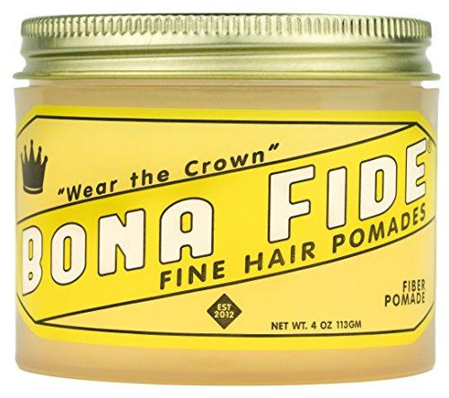 ボナファイドポマード(BONA FIDE POMADE) ファイバーポマード メンズ 整髪料 ヘアスタイリング剤 水性 ヘアグリース ツヤあり ミディアムホールド