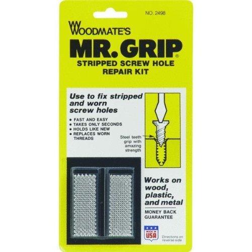 Woodmate 2498 Mr. Grip Screw Hole Repair Kit by Woodmate