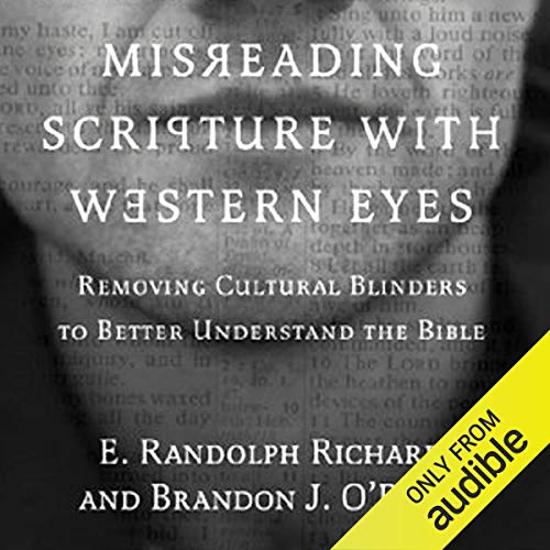 Page de couverture de Misreading Scripture with Western Eyes
