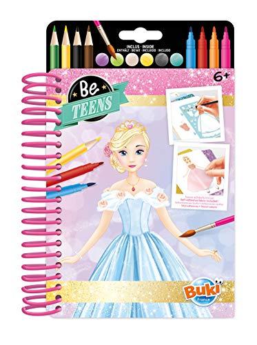 Buki France- Libreta Vestidos de Moda, Color (CM101)