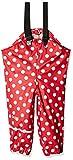 caretec pantaloni impermeabili unisex unisex bambino/bambina, rosso (red 402), 116