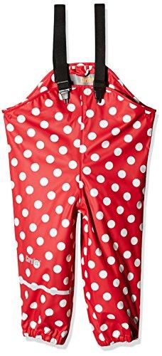 CareTec Kinder Regenlatzhose, wind- und wasserdicht (verschiedene Farben)  Rot (Red), 98