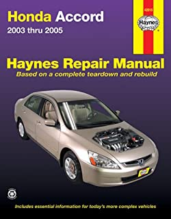 Honda Accord, 2003-2005 (Haynes Automotive Repair Manual)