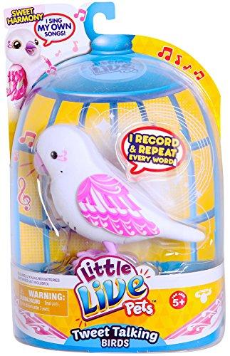 Little Live Pets - 33518 - S3 - Pack Simple Oiseau - Douce Harmonie