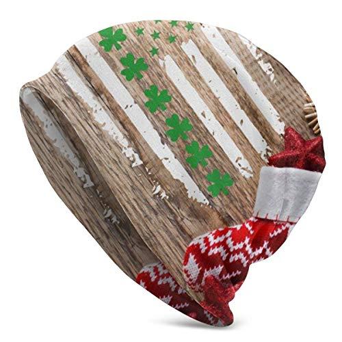 Taroot AA Calcetín navideño, Gorro Colgante, Ligero, Holgado, Holgado, elástico, Turbante para Hombres y Mujeres, Gorro de confinamiento, Diademas
