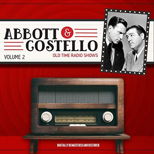 Abbott and Costello: Volume 2 audiobook cover art