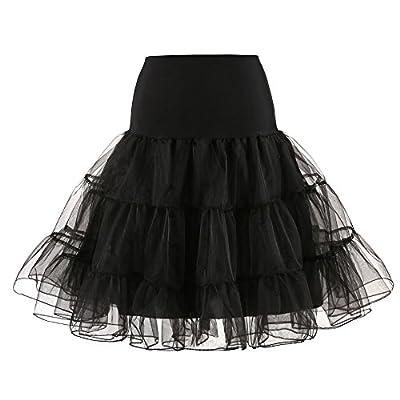 TWGONE Tutu Skirts for Women High Waist Pleated Adult Dancing Short Mini Skirt