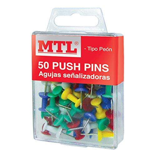 MTL 91368 - Pack de 50 chinchetas