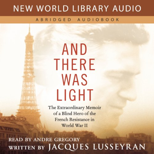And There Was Light audiobook cover art