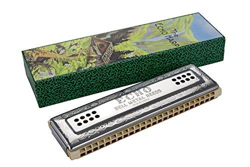 Hohner M569633 Echo Harp 96 C/G Mundharmonika