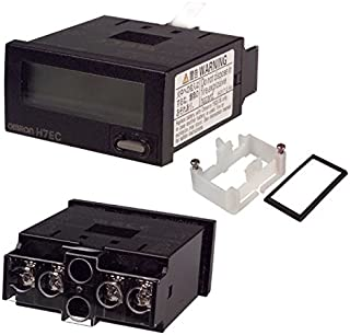 Omron H7ECNVBH Count Totalizer, 8 Digits, 7-Segment LED, 30 Hz Counts Per Second
