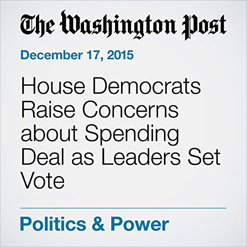 『House Democrats Raise Concerns about Spending Deal as Leaders Set Vote』のカバーアート