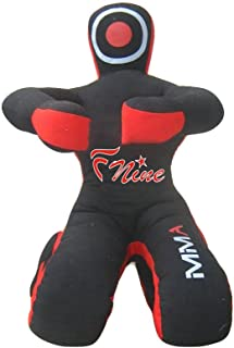 FNine MMA Dummy, Judo Grappling Dummy Sitting Position UNFILLED Punching Bag Canvas