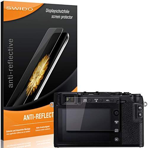 SWIDO Bildschirmschutzfolie für Fujifilm X-E3 [3 Stück] Anti-Reflex MATT Entspiegelnd, Extrem Kratzfest, Schutz vor Kratzer/Folie, Bildschirmschutz, Schutzfolie, Panzerfolie