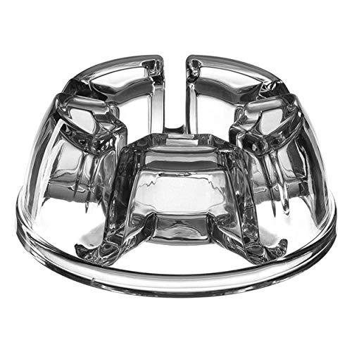 Leonardo Stövchen ARMONIA, Teelichthhalter, Teelicht-Stövchen, Kalk-Natron Glas, Klar, 032937