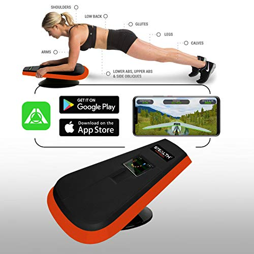 Stealth Core Trainer Personal - Full Core/Body Workout While Playing Games; Free iOS/Android Training App; Includes Online Competitions and Coaching; Build Muscle, Lose Body Fat in 3 Minutes A Day