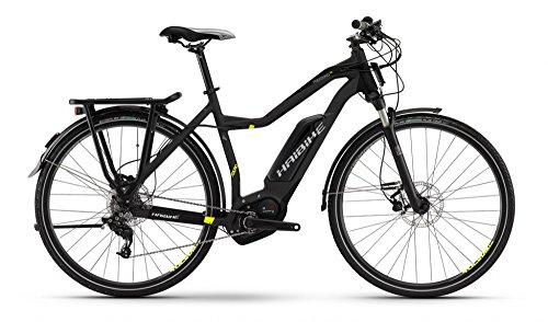 HAIBIKE Xduro Trekking RX Damen schwarz/lime matt Rahmengröße 52 cm 2016 E-Trekkingrad