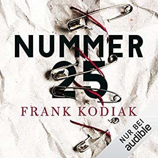 Nummer 25 audiobook cover art