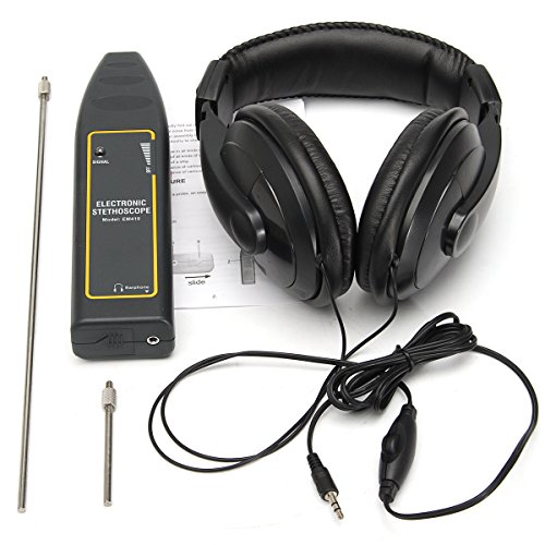 AE Market Electronic Stethoscope Earphone Leak Detector Water Pipe Detection Equipment Kit