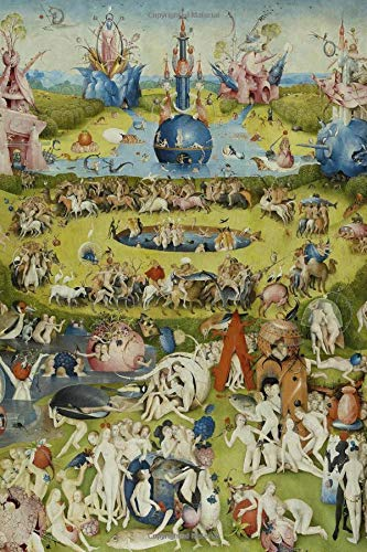 "Hieronymus Bosch Journal #8: Cool Artist Gifts - The Garden of Earthly Delights Hieronymus Bosch Notebook Journal To Write In 6x9"" 150 Lined Pages"