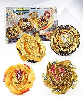 Bey Battle Gyro Burst Battle Evolution Attack Pack for Battling Top Game Included 4X Golden Burst Gyro Set
