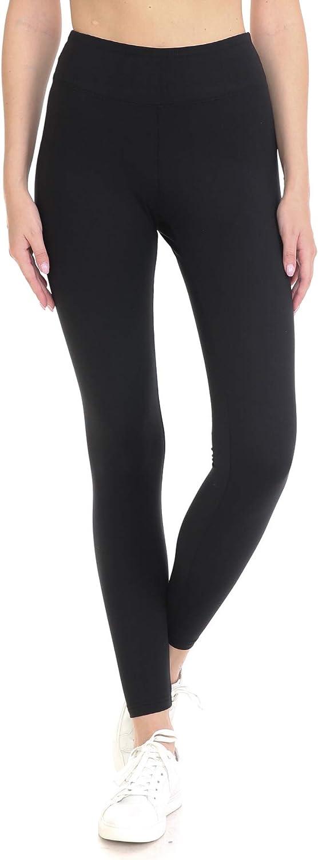 Leggings Depot Yoga Waist REG/Plus Women's Buttery Soft Fashion Leggings