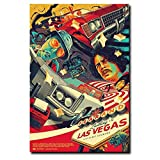 DNJKSA Fear and Loathing In Las Vegas Classic Movie Poster
