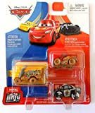 Cars Mini-vehículo, Coche Miniatura Disney Pixar, Juguete para niños (Miss Fritter APB Muddy Mcqueen)