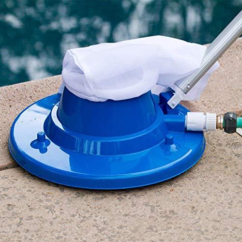Poolsauger, Poolreinigung Bodensauger, Basis Schwimmbad Nützlicher Saugkopf Mit Schneller Reinigung, 16,6 X 15,3 X 6,7 Zoll (Blau, 16,6 x 15,3 x 6,7 Zoll)