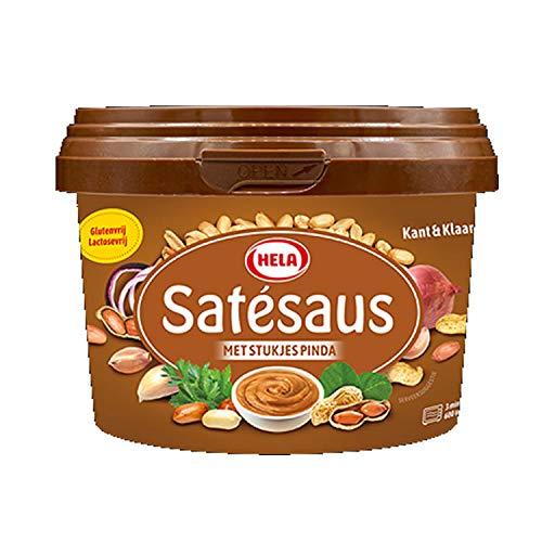 Hela Erdnußsoße mit Erdnussstückchen 500ml
