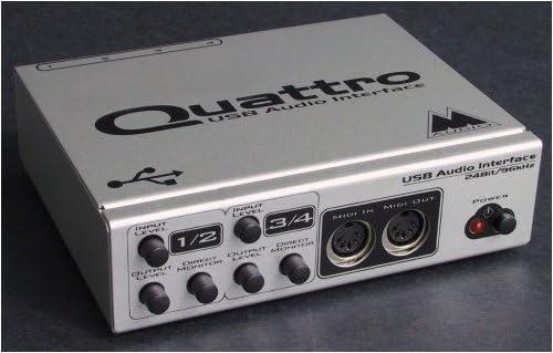 MIDIMAN M-Audio Quattro Max 67% OFF USB MIDI Interface Nippon regular agency with Audio