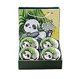 Ciotole In Porcellana Panda, Ciotola Di Cereali, Ciotola Di Riso,Ciotola Di Zuppa, Ciotola Da Dessert ,Ciotola Da Colazione, Ciotole Aperitivo ,lavabili in lavastoviglie e impilabili (4)