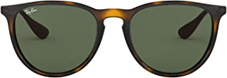 Ray-Ban RB4171 Erika Round Sunglasses, Light Havana/Dark...