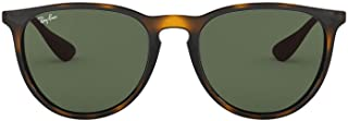 Ray-Ban Erika Aviator Sunglasses, Light Havana, 54 mm