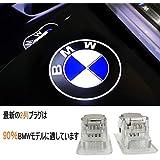 立体効果 カーテシランプ BMW 車用 カーテシランプ レーザーロゴライト LEDロゴ投影 for bmw 3 5 7 X1 X3 X7シリーズ (bmw-立体効果)