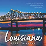 Louisiana 2022 Calendar: Gifts for Friends and Family with 12-month Monthly Calendar in 8.5x8.5 inch