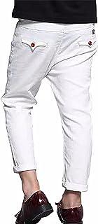 AMIGOYO 春物 子供服 男の子 長ズボン ボーイズ ロングパンツ 無地 カジュアル 美脚ストレッチ かっこいい 柔らかい お出かけ ジュニア ボトムス キッズ 高校生 大学生