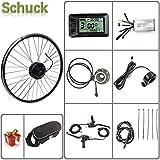 "Schuck E-bike kit 48V 500W 20""/24""/26""/27.5""/28""/29""/700C Front Motor Wheel Electric Bicycle Conversion Motor"