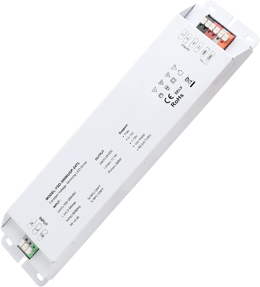 DC24V 300W 12.5A UL-Listed LED Raleigh Mall Supply Power Thinnest Waterproof lowest price