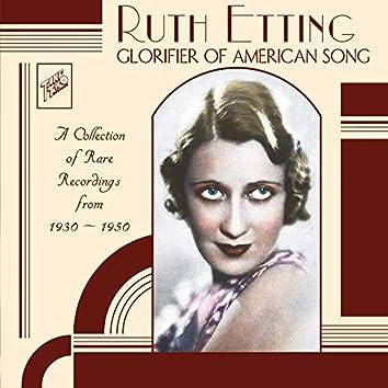 Ruth Etting : Glorifier of American Song