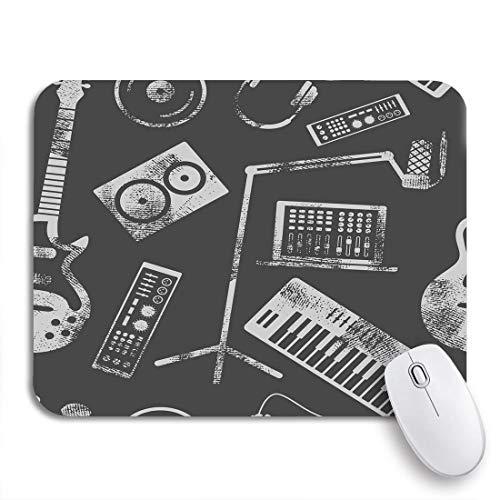 Gaming Mouse Pad Musikproduktion Lautsprecher Laptop Kopfhörer Mikrofonverstärker Platte Synthesizer Rutschfeste Gummiunterlage Computer Mousepad für Notebooks Mausmatten