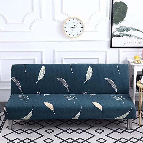 W-L Housse De Canapé Tout Compris Pliant Canapé-lit Couverture Tight Wrap Canapé-Serviettes Accoudoirs Pas Tight Wrap Sofa for Living Room (Color : A, Size : S(length120 150cm))